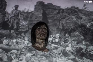 Verónica Caradaghian (37 años) nieta de exiliados y sobrevivientes armenios.