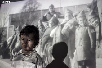 Rubén Gasparyan (3 años) bisnieto de exiliados y sobrevivientes armenios.