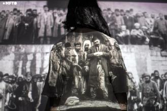 Anoush Berberian (23 años) nieta de exiliados y sobrevivientes armenios.